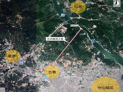 韩江鹿湖隧洞引水工程