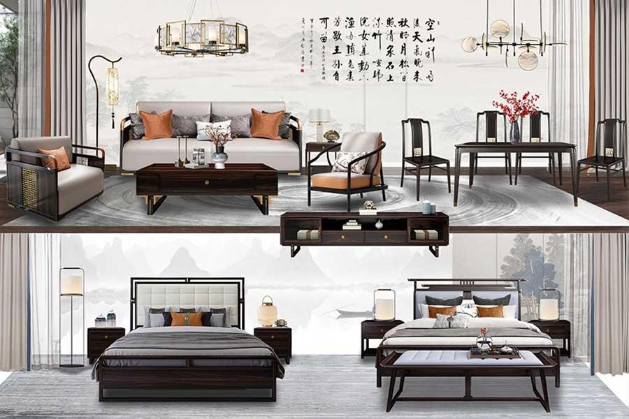 新中式风格(东方韵味)