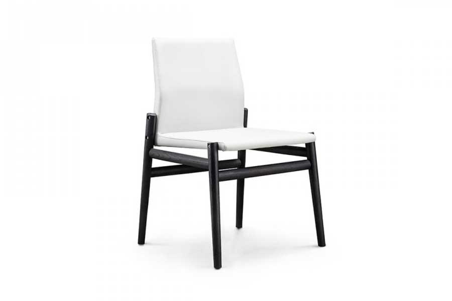 意式極簡GN-10皮藝餐椅