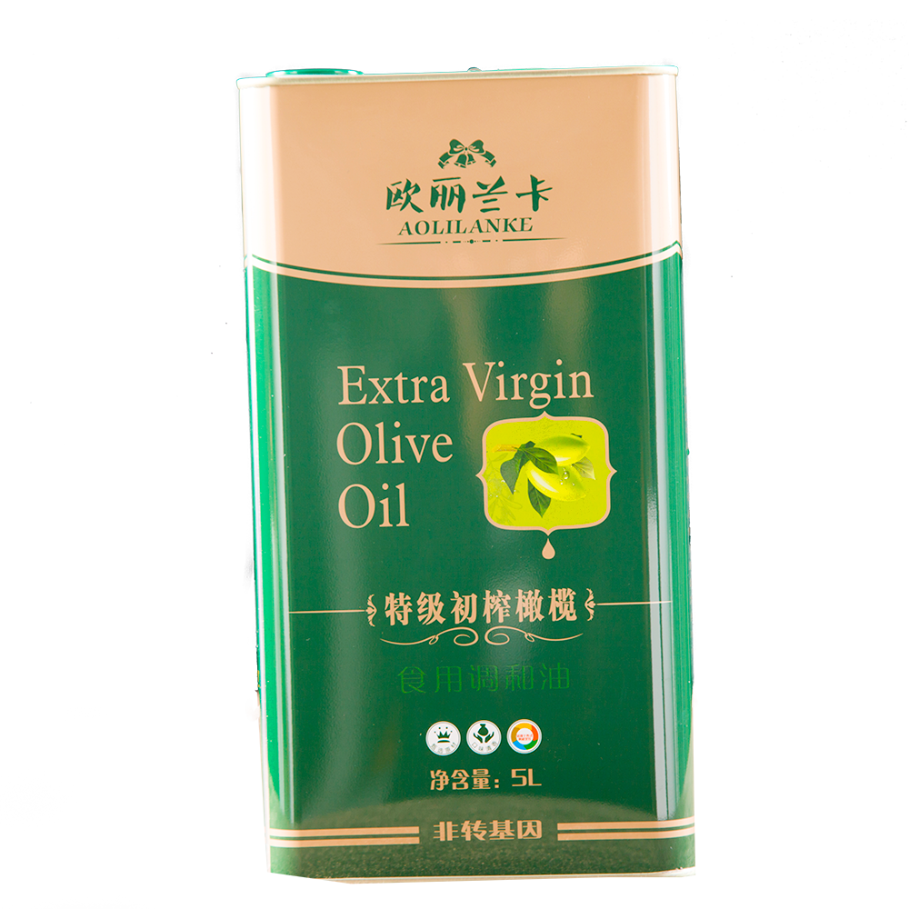5L铁罐橄榄调和油