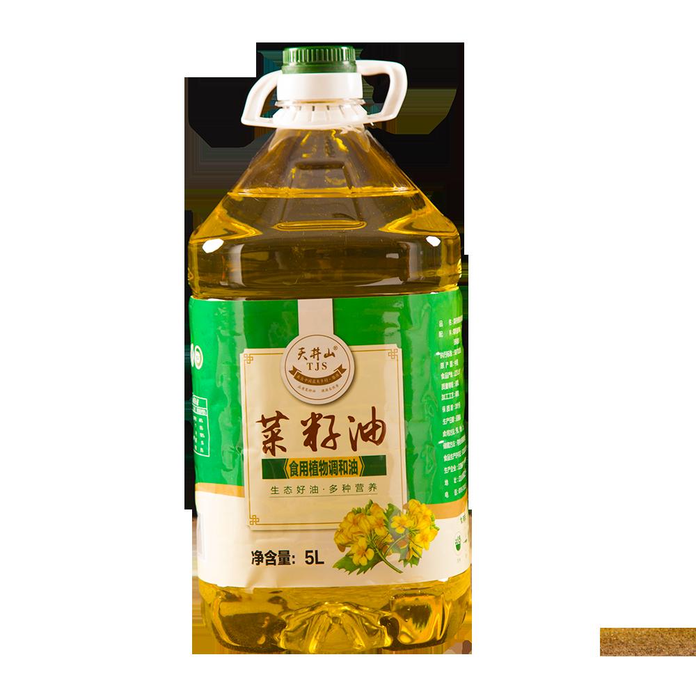天井山菜籽油