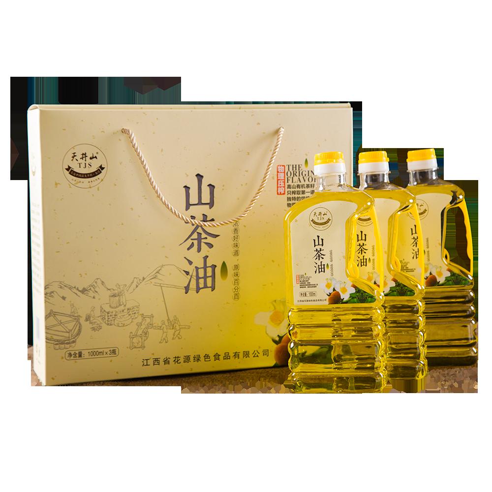 1000ml三瓶装纯正山茶油