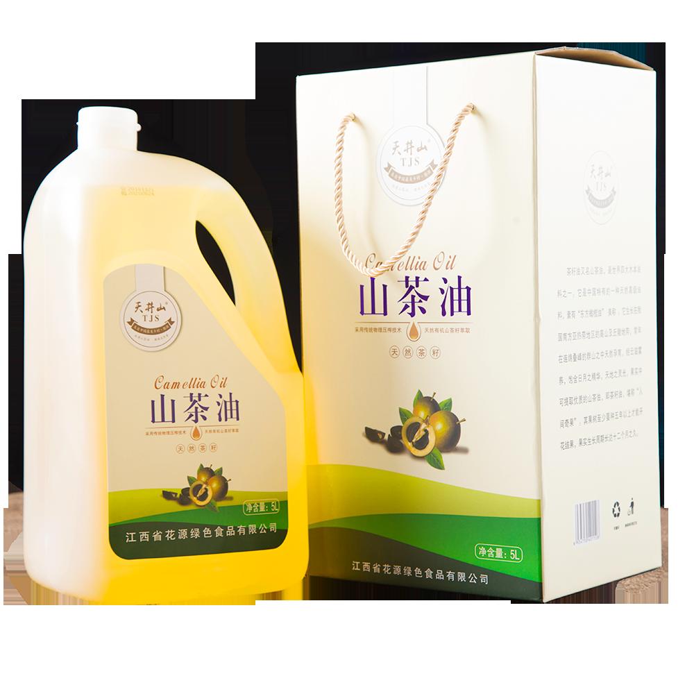 5L纯正山茶油