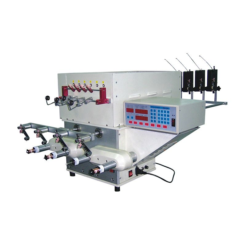WY-804T Four Spindle Coil Winding Machine-equip With The Auto Multi-Stock Twisting Machine