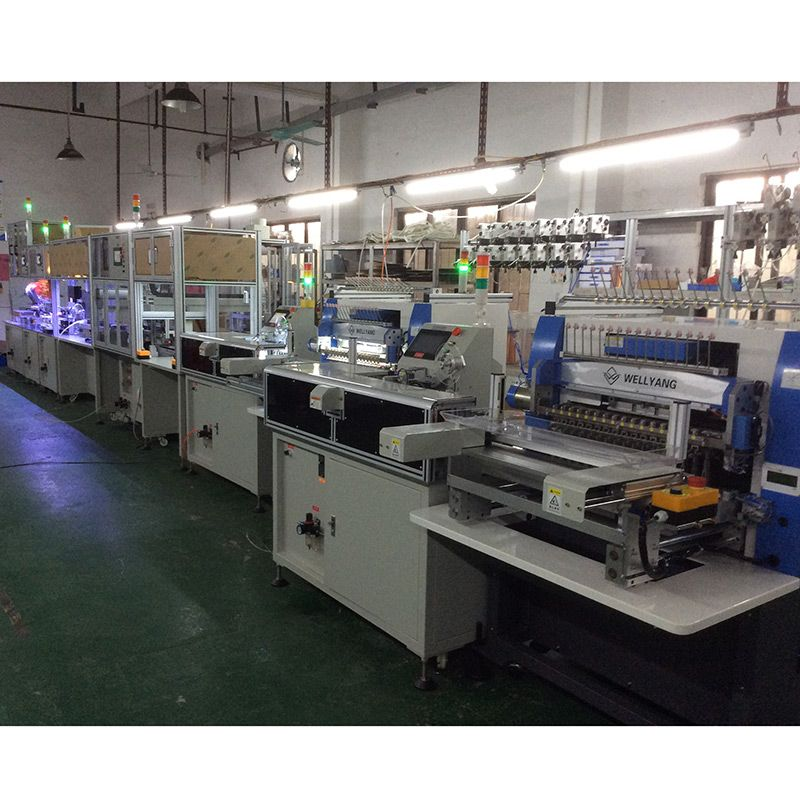Coil automatic production line