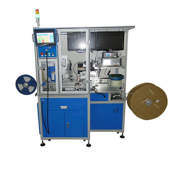 Automatic test packaging machine