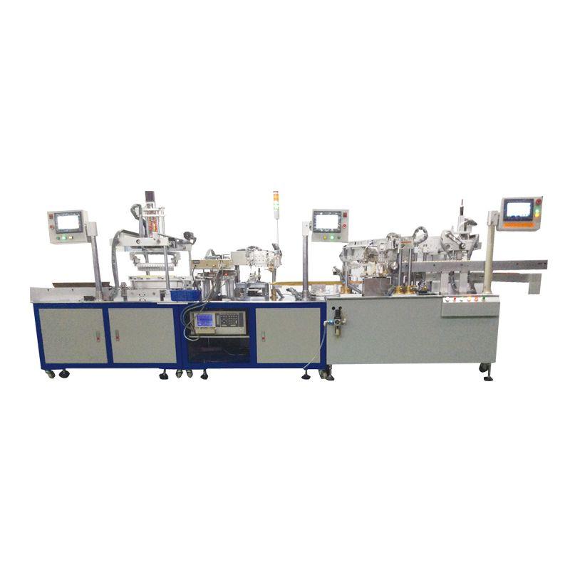 磁芯装配包胶测试机